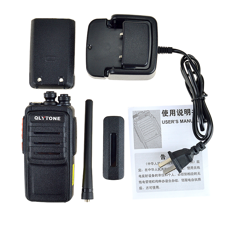 Quanzhou manufacture retailer 16CH small size two way radio used walkie talkie 2km range for group