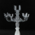 Modern Acrylic Laser Cut Candle Stand Candelabra