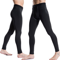 High Quality Sport Pants Men Running Tights Fitness Leggings Gym Clothing Compression Training