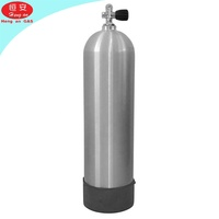 Aluminium CO2 Carbon Dioxide Gas Cylinder Tank For All Size