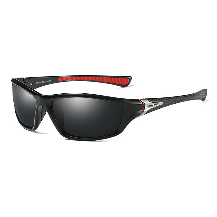 SPUKA <strong>D120</strong> Polarized Sports Sunglasses Cycling Running Fishing Shade for Men Women Plastic Unbreakable Frame