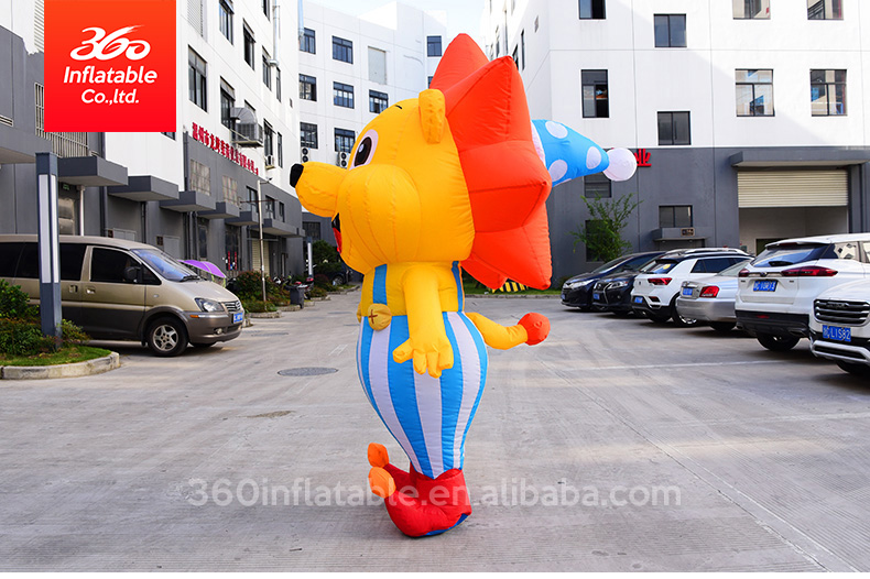 Hot Sale advertising Inflatable Cartoon Lion for Promotion Inflatable customed Cartoon Character Inflatable mascot Lion Cartoon