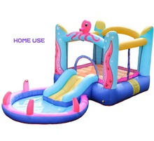 Blow up Inflatable Octopus Jumping Castle Water Bounce House Bouncy Castle with Slide Pool