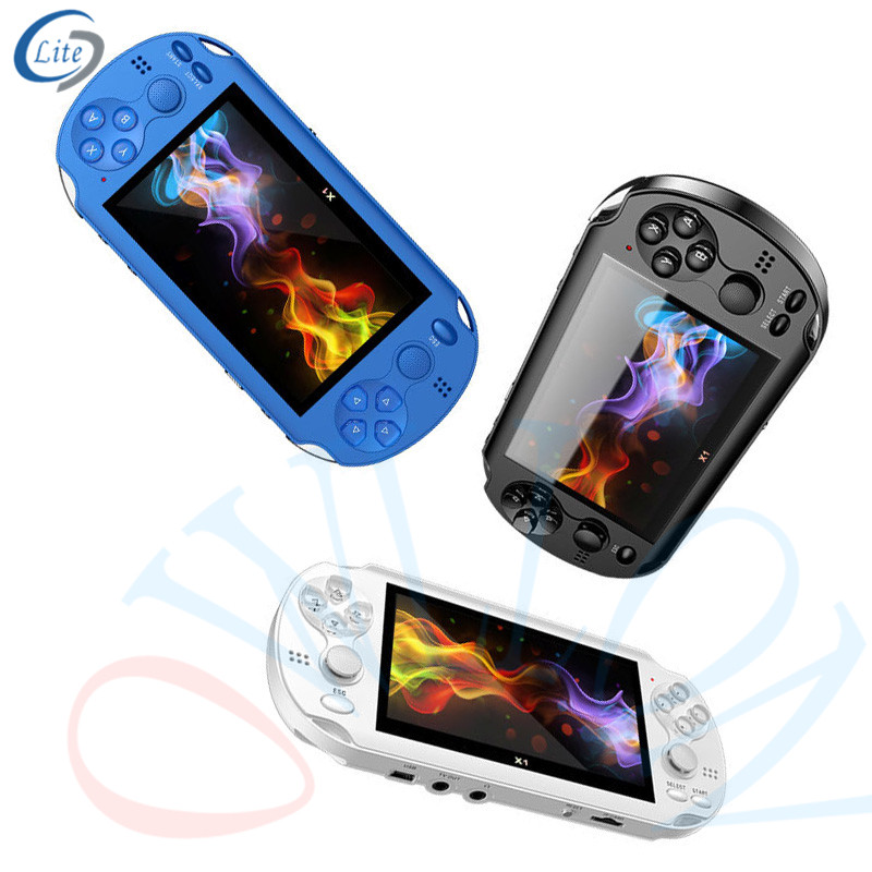 2020 manufacturer direct sales popularly selling game console <strong>x12</strong> box <strong>X12</strong> Video Game Console 5.1 inch Support RMVB/MP4/3GP/AVI