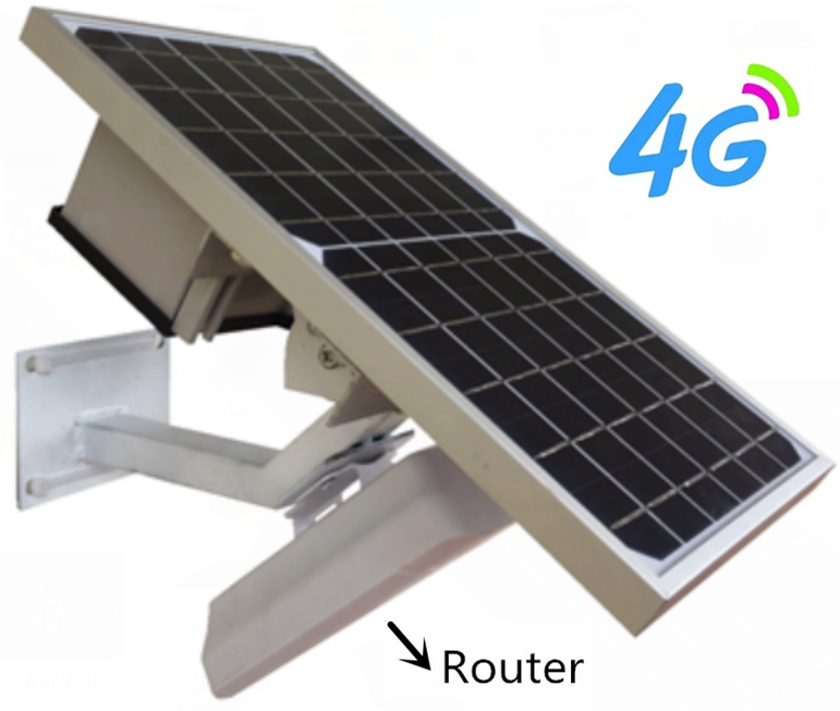 Howell New 4G Lte Router Wireless Router 4G with 10W Solar Panel and 10Ah <strong>Battery</strong> Wireless Wifi 4G Router with Solar Power
