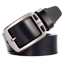 Cow genuine leather luxury strap male <strong>belts</strong> for men new fashion classical vintage pin buckle men <strong>belt</strong> High Quality