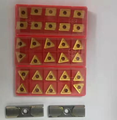 Best quality inserts and guide pads for BTA deep hole drill head