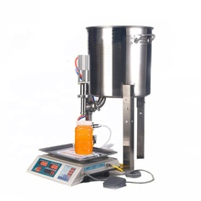 small Pneumatic home use honey filling machine/oil filler for sale