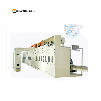 Elastic waistbands for baby diapers manufacturing machine