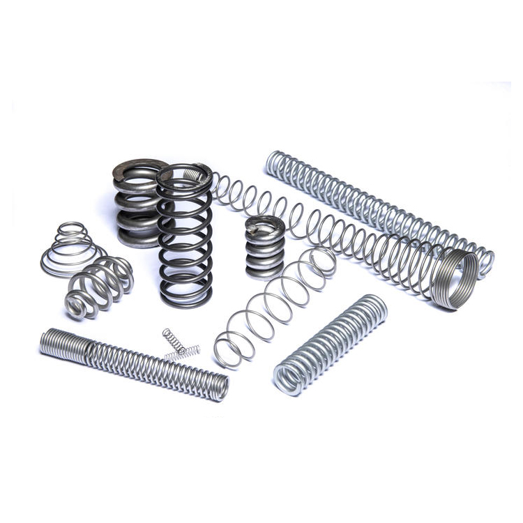 Manufacture custom stainless steel 304 coil compression <strong>springs</strong> with end ground and flat