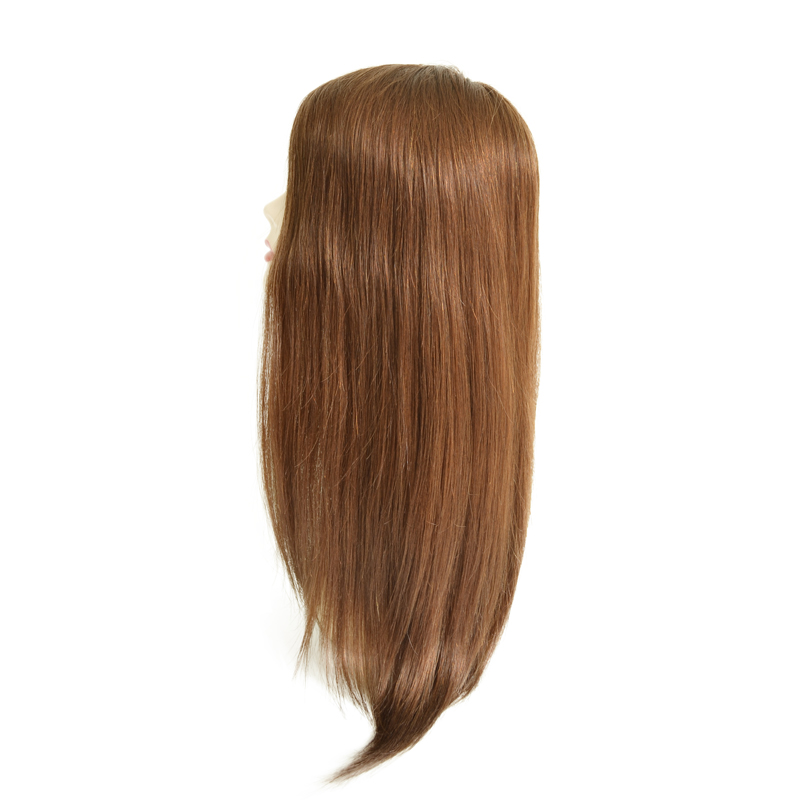 Brazilian Virgin Hair Hidden Knots  Full Swiss Lace Wig With Silk Top