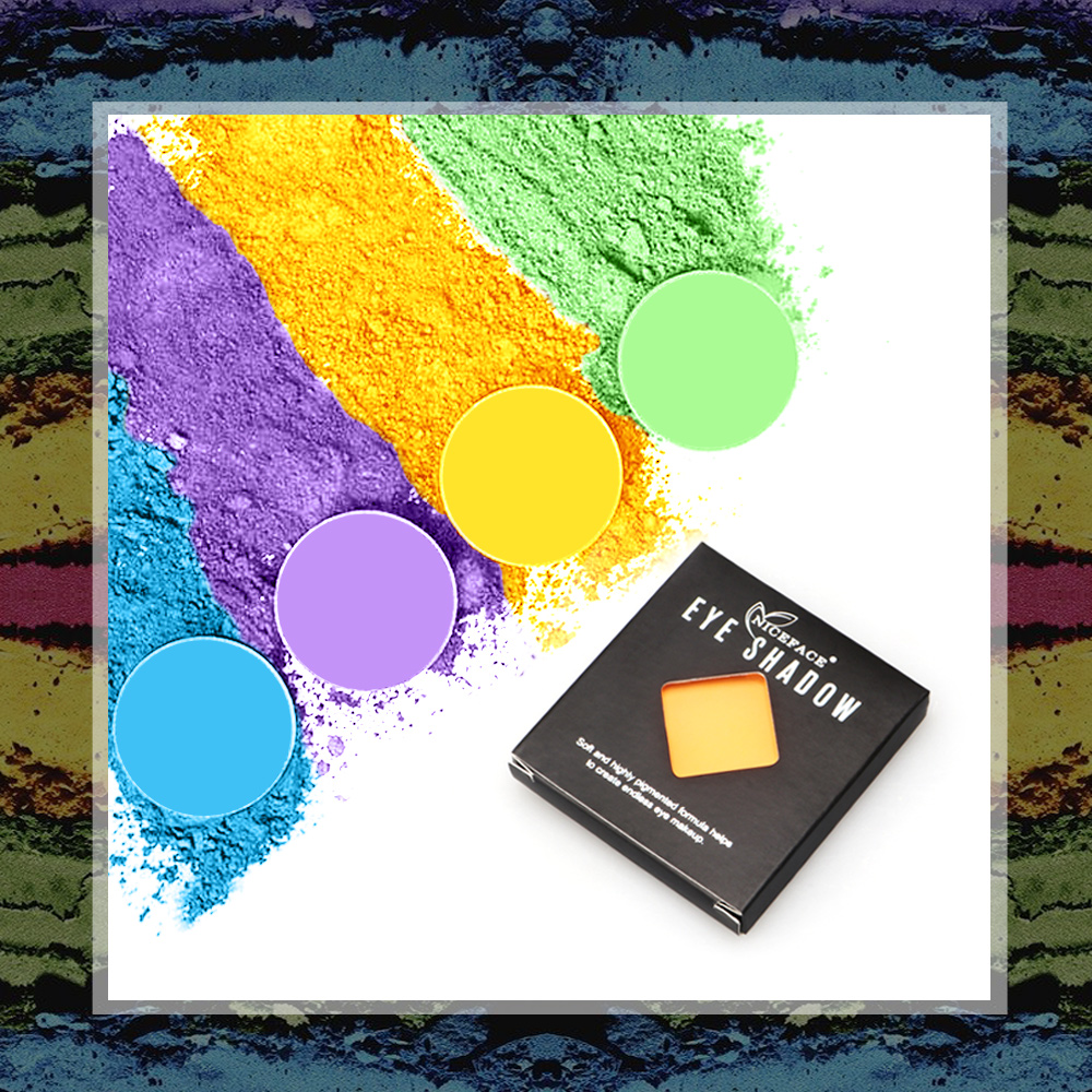 2019 Amazon Halloween Party Fluorescent Eyeshadow Glitter Shining Light <strong>Eyes</strong> In the Halloween Night Christmas Party