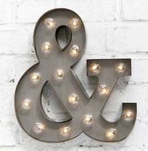 Shop electric Gold led light up letters wall decor bulb letter <strong>sign</strong> for shop decor