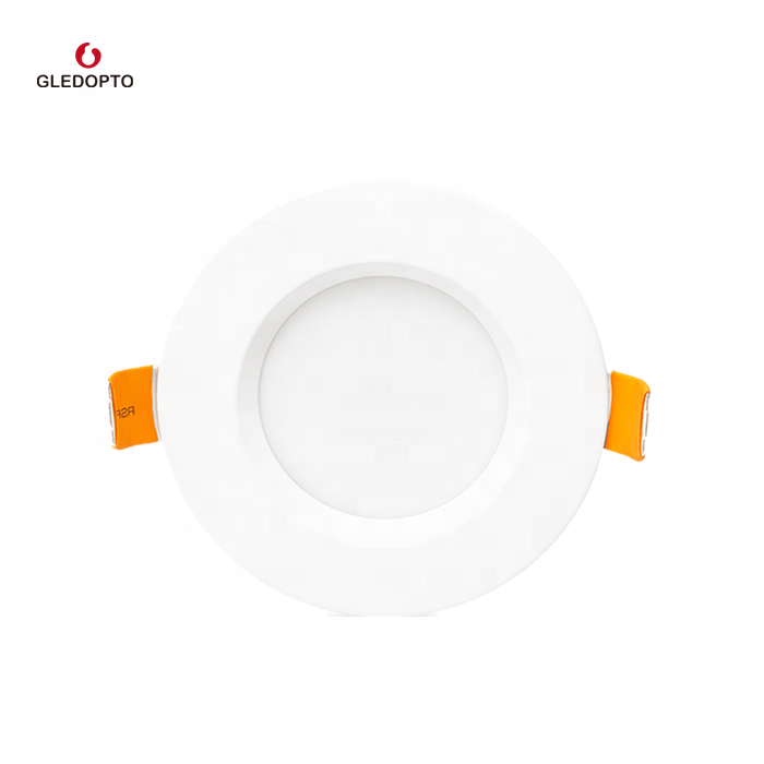 IP44 led light downlight, Adjustable colorful smart app control ceiling <strong>lamp</strong> 130mm 140mm cutout