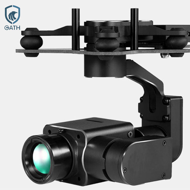 Professional IR night vision uav camera for power line inspection