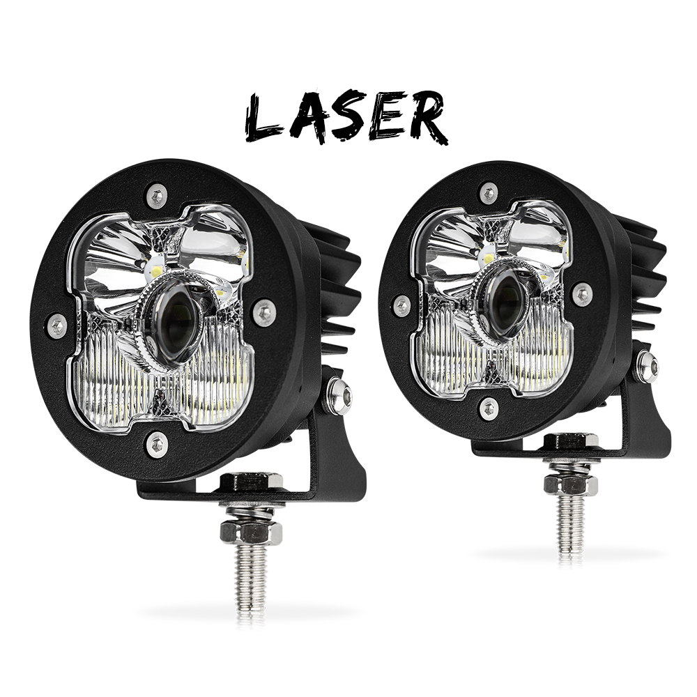 1Lux@1400m High Power Super Bright Off Road led Work <strong>light</strong>,12V 24V 3 Inch 50w Laser Led Work <strong>Light</strong> for Jeep Truck 4wd Motorcycle