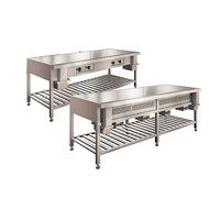 Japan commercial professional restaurant equipment kitchen hibachi grill