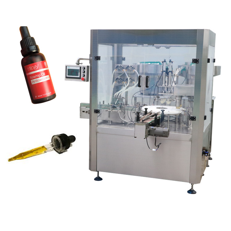 YB-Y8 New <strong>design</strong> e liquid for glass dropper line eye drop filling machine ship machinery and equipment