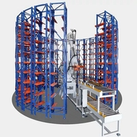 Advanced Automatic Storage Retrieval System Robitc Stereo Storage System