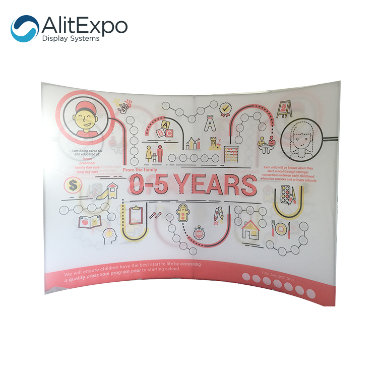 backdrop advertising banner aluminum tension fabric display