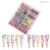 Valentine's Day Nail Transfer Foil Set Heart Flower Designs Nail Foil Sticker