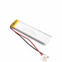 best selling rechargeable 402686 3.7v 1000mah lipo lithium polymer battery