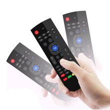 Factory Price 2.4Ghz Wireless BT MX3 Air Fly Mouse Universal With USB <strong>Remote</strong> Control For TV Box