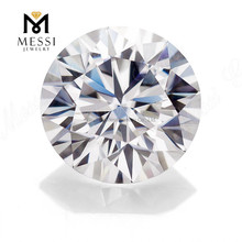 Messi Jewelry top quality loose <strong>stone</strong> VVS DEF wholesale price white round brilliant cut diamonds moissanite