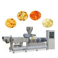 Automatic 200 To 250kg Per h Extrusion Snack Doughnut Production Line