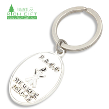 Custom Promotion Gift leather Keyring DIY Couple Hard Enamel small heart straw Metal Key Ring Chains Keychain metal for souvenir