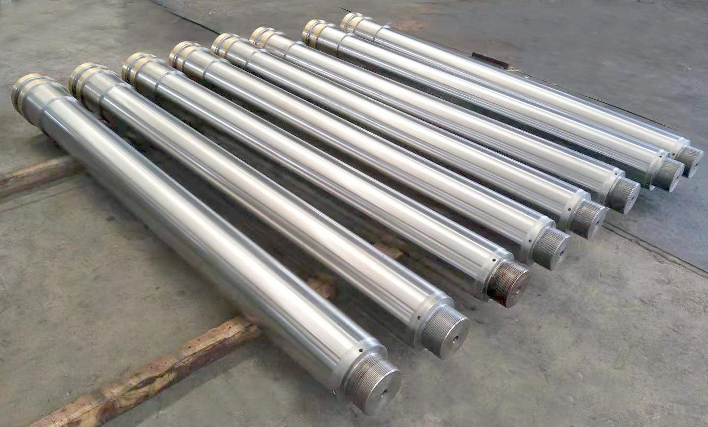 Chromating piston rod / chromating bar with piston brazing for hydraulic cylinder  Z264
