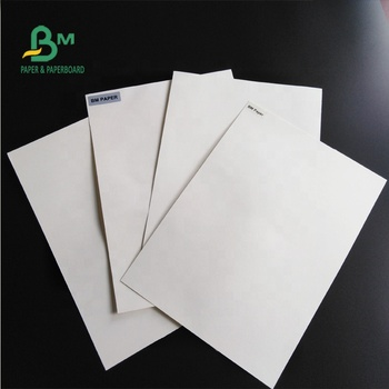 1mm Thick Uncoated White Absorbent Paper For Beer Mat & Filtration and Pulp Test Blotting