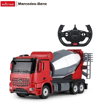 RASTAR 2.4G rc model mercedes benz concrete mixer truck toy