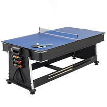 Factory wholesale 4 in 1 Multi-Game Table pool dinner table