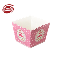 BAKEST new style food grade <strong>paper</strong> sweet food wrapper for decoration tools