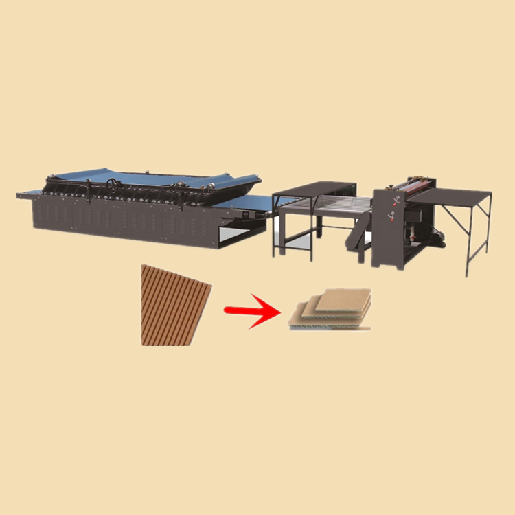 ZH-CTM 1450 Economic Semi Automatic Flute Laminator A B <strong>C</strong> E F Corrugated Carton Mounter