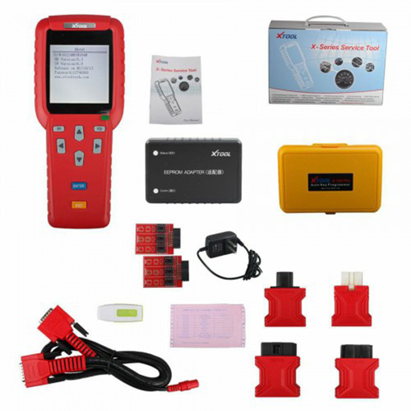 Xtool <strong>X100</strong> PRO Auto Key Programmer <strong>X100</strong>+ Updated Version with EEPROM Adapter Diagnostic Tool