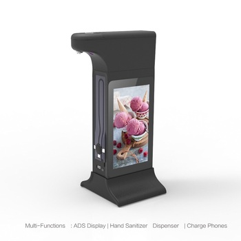 Innovative Restaurant Table Stand Ordering Food LCD Touch Screen Android Digital Signage Advertising Display AD