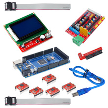 3D Printer Kit with Mega 2560 5pcs A4988 LCD 12864 Display