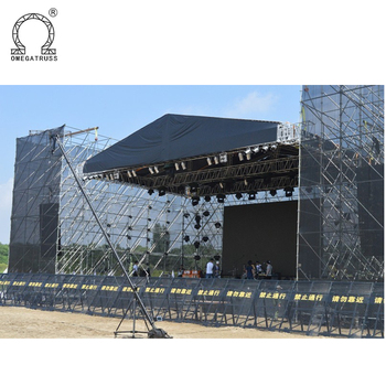 OEM/ODM Black hot Galvanized Layer scaffolding truss for sale