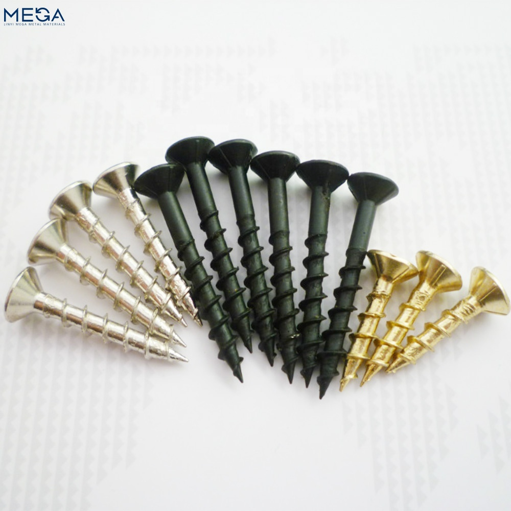factory supplying carbon steel <strong>C1022</strong> black phosphated drywall gypsum screw for gypsum board