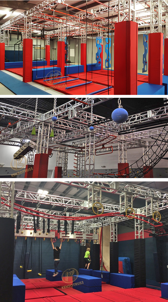 Professional Ninja Warrior Obstacle Course Equipment for Sale