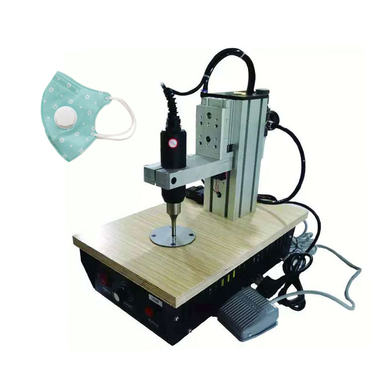 The factory sells a large number of cheap ultrasonic spot welding machines, non-woven fabric shields, elastic ear straps, rope <strong>w</strong>