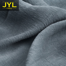 JYL 53.5% rayon 46.5% linen fabric GL1033# sample/colors swatch or fabric
