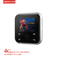 New Fm Radio Hi-fi Bluetooth Watch Mp3 Music Player