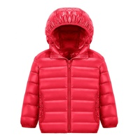 Wholesale Top Quality Warm Custom Padded Winter Clothes Down Jacket Colors Children Baby Girls Kids Winter Coat