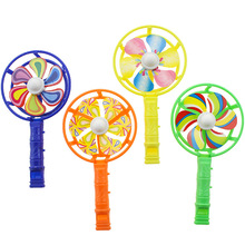 Wholesale kids toys gift colorful cheap plastic <strong>windmill</strong> with whistle