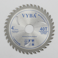 Professional 110mm-40T TCT Circular Saw blade factory for cutting aluminum profile