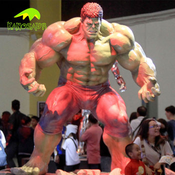 KANOSAUR5000 factory direct sales Lifelike fiberglass modern art statue fiberglass The Hulk