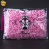 Sinicline highly recommend printed zip lock plastic bags bra packing bag with tassel handle